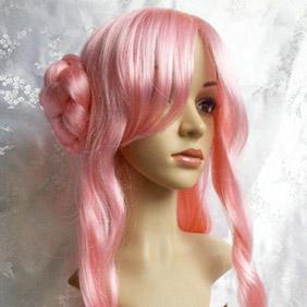 Pink CODE GEASS R2  Euphemia Li Britannia Long Wavy Nylon Cosplay Wig