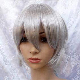 White Axis Powers Hetalia Russia Short Nylon Cosplay Wig