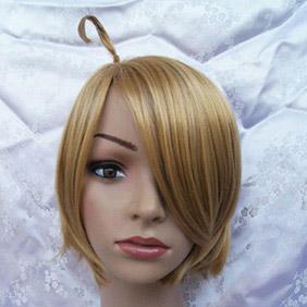 Light Brown Axis Powers Hetalia  America Short Nylon Cosplay Wig