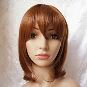 Brown  Umineko no Naku Koro ni  Maria Short Nylon Cosplay Wig