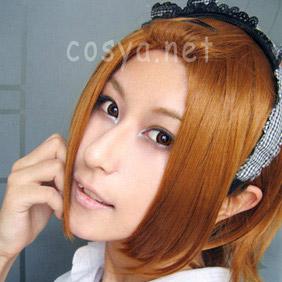 Orange K-ON! Tainakaritsu Short Nylon Cosplay Wig