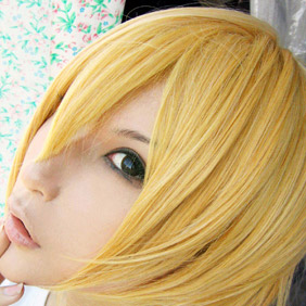 Blonde Pandora Hearts Oz Vessalius Short Nylon Cosplay Wig
