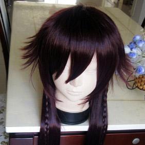 Dark Brown Pandora Hearts AliceLong Straight Nylon Cosplay Wig