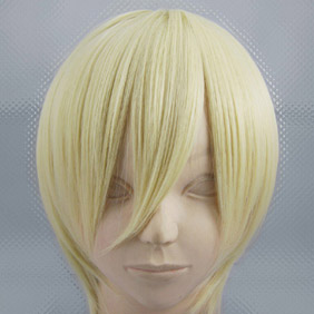Light Yellow Natsume Yuujinchou Natsume Short Nylon Cosplay Wig