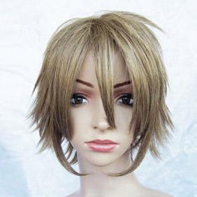 Light Brown Starry☆Sky Ryunosuke Miyaji Short Nylon Cosplay Wig