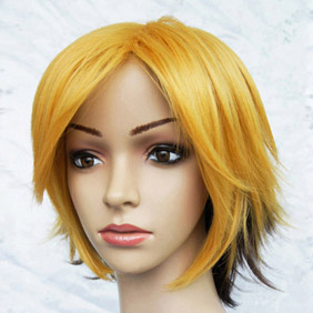 Blonde and Black nurarihyonnomago Kubinashi Short Nylon Cosplay Wig