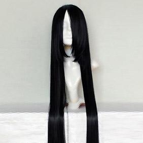 Black Starry☆Sky Tsubasa Amaha Long Straight Nylon Cosplay Wig