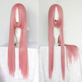 Pink Starry☆Sky  Tomoe Yoh Long Straight Nylon Cosplay Wig