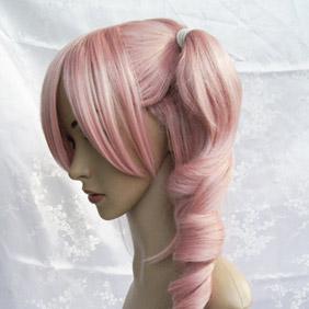 Pink Starry☆Sky Hayato Aozora wig Wavy Nylon Cosplay Wig