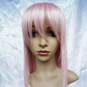 Pink High-temperature Fiber !Betrayal Knows My Name  toko Long Straight Nylon Cosplay Wig