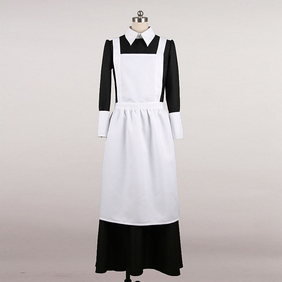 Maid Costume Black white Cosplay Costume