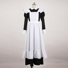Maid Costume Black Cosplay Costume