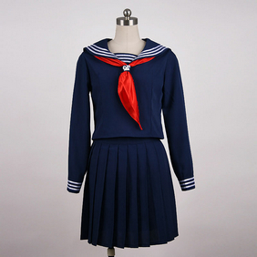 Sailor costume female Uniform Blue Cosplay Costume