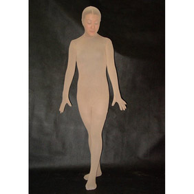 Sexy Velours Female Zentai Suit