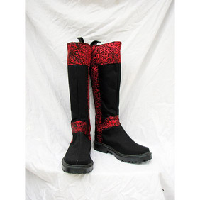 Changan unreal night Huangpu Duanhua Suede Cosplay Boots