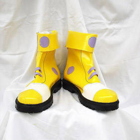 Wonderland Rock Patent Cosplay Boots