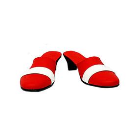 天元突破グレンラガン(gurren lagann) - ニア·テッペリン(nia teppelin) 合皮 ゴム底 コスプレ靴