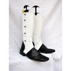 Black Butler Kuroshitsuji Charles Grey PU Leather Cosplay Boots