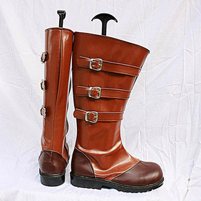 DEVIL MAY CRY 4 - NERO PU Leather Cosplay Boots