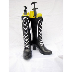 Black Butler Kuroshitsuji Ciel Childe Ver  PU Leather Cosplay Boots