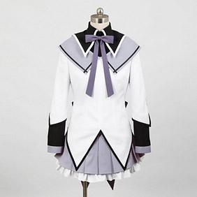 Puella Magi Madoka Magica Homura Akemi New Cosplay Costume