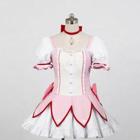 Puella Magi Madoka Magica Madoka Kaname Cosplay Costume