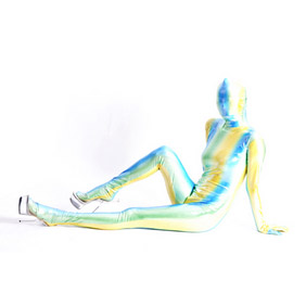 Sexy Metallic Colorful Breathable Soft Whole Body Zentai Suit