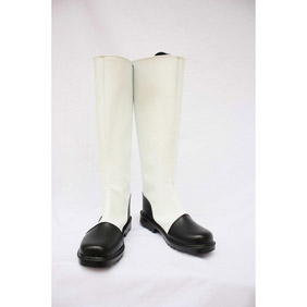 Axis powers APH Hongkong White PU Leather Cosplay Boots