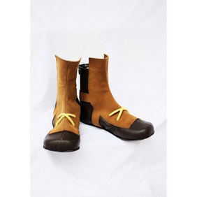 Ys VS Sora no Kiseki Eruku Brown Suede Cosplay Shoes