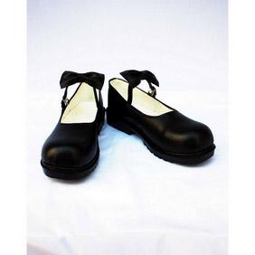 俺の妹がこんなに可愛いわけがない 黒猫(くろねこ)合皮 ゴム底 コスプレ靴