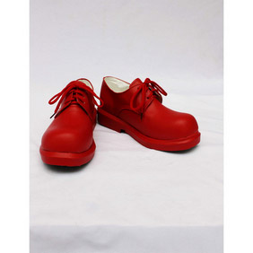 Touhou Project Shameimaru Aya Red Shoes PU Leather Cosplay Shoes