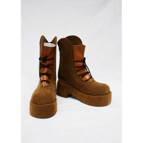 APH Switzerland Brown Suede Cosplay Shoes