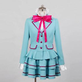 スイートプリキュア♪ 南野奏(みなみの かなで) / キュアリズム 私立アリア学園中学校制服 コスプレ衣装