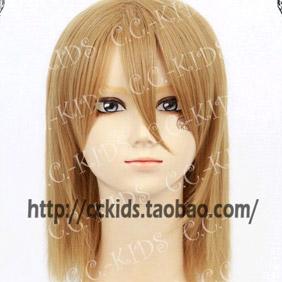 Blonde Kurage Hime Koibuchi Kuranosuke (men's clothing)Long Wavy Nylon Cosplay Wig