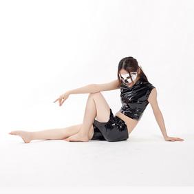 通気 柔らかい セクシー ブラック 黒 PVC 全身タイツ