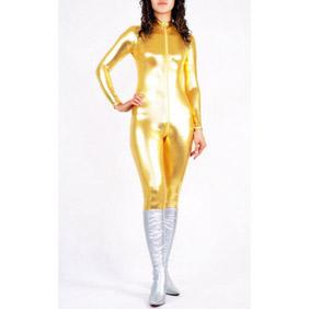 Golden PVC Zentai Suit