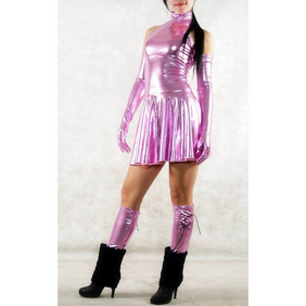 PVCSexy Skirt  Zentai Suit