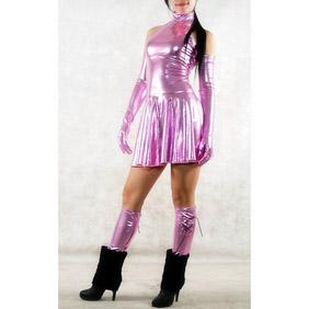 PVCSexy Skirt Zentai Suit