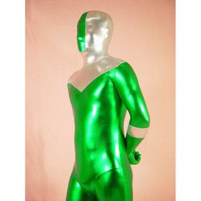 Mixed Color Metallic Ranger Zentai Suit