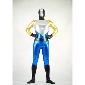 Metallic Ranger Mixed Color  Zentai Suit