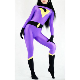 Sexy Purple LycraSexy Zentai Suit