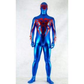 Metallic Blue Ranger Zentai Suit
