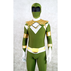 Sexy Green Lycra Spandex Superman Costume Zentai Suit