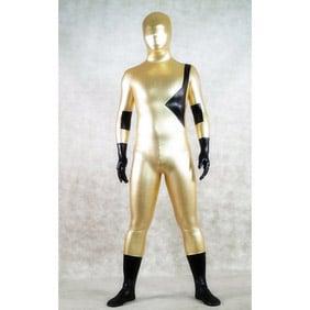 Sexy Golden Lycra Zentai Suit