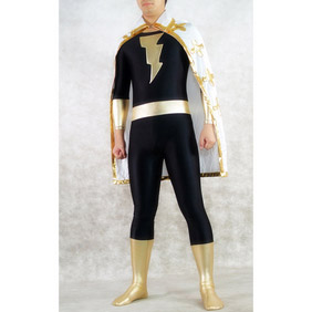 Sexy Black Lycra Party Costume Zentai Suit