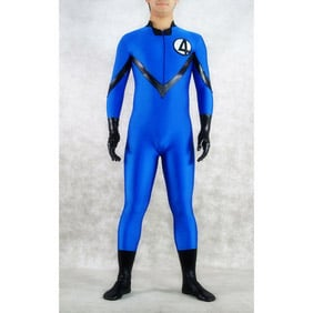 Sexy Mixed Color Lycra Party Costume Zentai Suit
