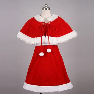 Original Santa Dress Cosplay Costume
