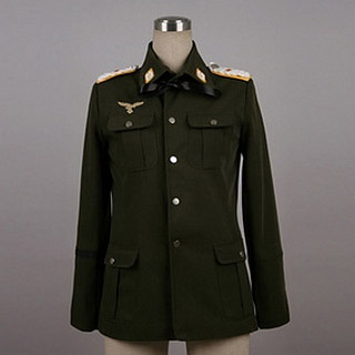 Strike Witches Minna-Dietlinde Wilcke Jacket Cosplay Costume