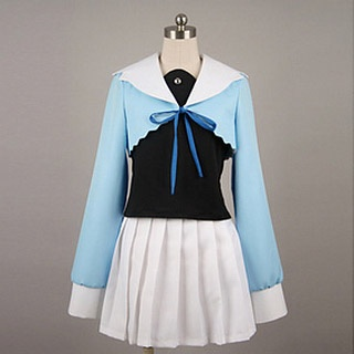 Okami San to Nananin Nonakamatachi Ostuu Tsurugaya  Cosplay Costume