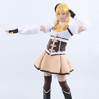 Puella Magi Madoka Magica MAGICA Mami Tomoe Cosplay Costume